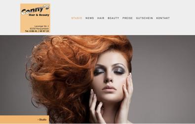 www.connys-hairandbeauty.de