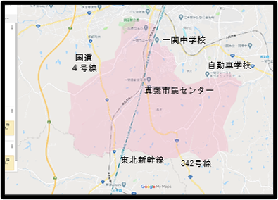 鬼死骸村絵図 一関市博物館