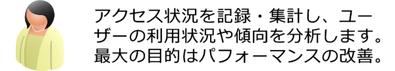 島根県松江市 インターネットマーケティング応援隊 サービスラインアップ ユーザーとの接触からゴールまでの重要工程 アクセス解析