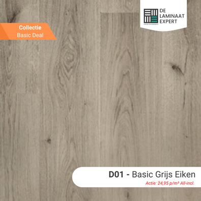 GE3126 Basic Grijs Eiken