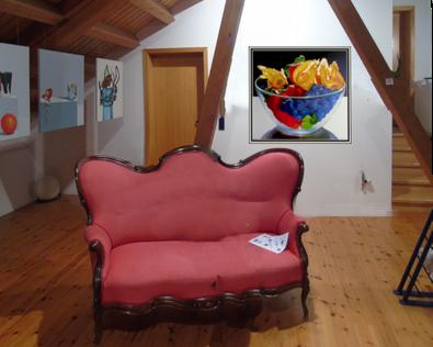 Innenansicht  Galerie Formstein, Mannheim