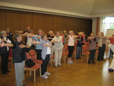 Teilnehmerinnen und Teilnehmer waren vom 3. Seniorensporttag begeistert
