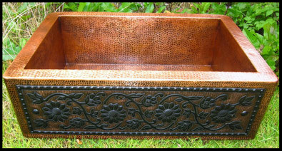 Rustic Finish and Exclusive Dark Patina