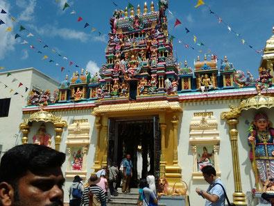 ジョージタウンのインド寺院