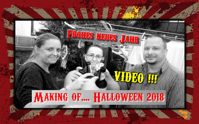 Making of Halloween 2018 Halloween Projekt Lüneburg