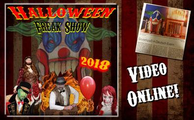 Halloween Zirkus 2018 Halloween Projekt Lüneburg Deutsch Evern YouTube Video
