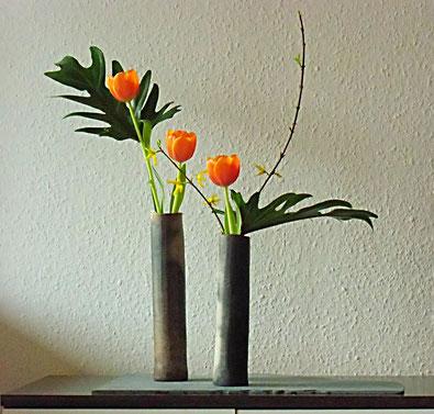 Moderne kunst in modernen r umen ikebana factory ayakas for Japanische blumenkunst