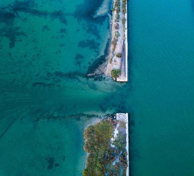 Reportage photo avec photo aérienne avec drone