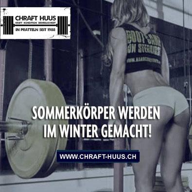 Chraft-Huus Lager-Verkauf und Open Gym im Fitnesscenter Pratteln