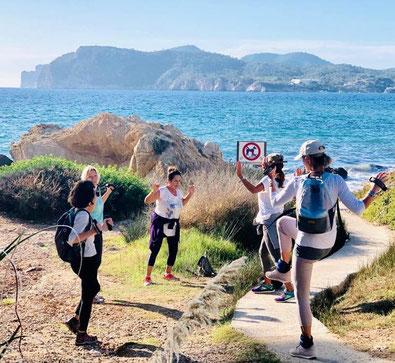 Walkinggruppe Miriam Schwald Mallorca