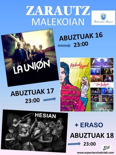 Fiestas en Zarautz Semana Grande