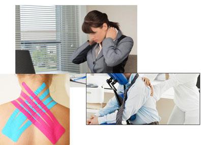 Tratamenti per risolvere problematiche relative al lavoro d'ufficio, dolori e irrigidimento a collo e spalle