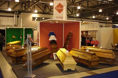 Sargfabrik Pollmer auf der Fachmesse Pieta in Dresden 2006