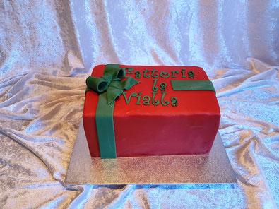 Ein Schokokuchen wie die legendären Weihnachtspakete