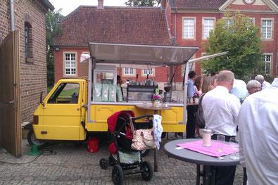 Mobile Kaffeebar Cafebar Piaggio Ape Cafe Mobil Cafe Loco Hannover