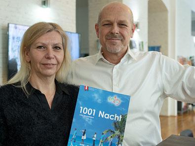Silvia und Richard Senft, enjoy reisen