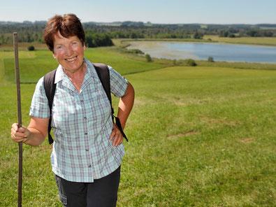 Naturvermittlerin  Maria Wimmer