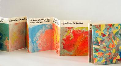 création d'un livre d'artiste