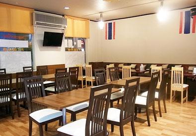 タイレストランパヤオ店内,荒川沖,タイレストランパヤオ,phayao,thai