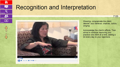 Screenshot of a video from Energy Medicine Meets Hypnotherapy in Puerto Rico