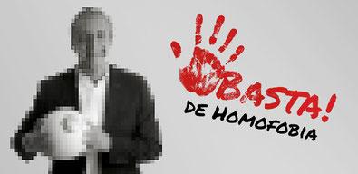 ¡Basta de homofobia!