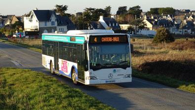 Mercedes Citaro 1 N ex-Daniel Meyer sur la ligne 4 du réseau KSMA, acquis par le réseau en remplacement du 61. Photo Antoine H.