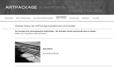 www.photowords.de @ ArtPackage