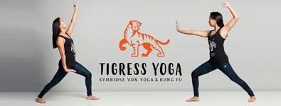 Tigress Yoga - die Symbiose von Yoga und Kung Fu. Tigress Yoga: der Vinyasa Yoga für mehr Widerstandskraft, Flexibilität und Dynamik. Ein Produkt von Yoga2day, Zürich Oerlikon. Tigress Yoga Teacher Ausbildung
