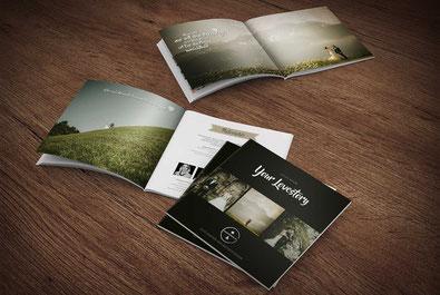 Corporate Publishing Hochzeitsfotografie Broschüre