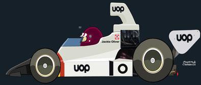 Jackie Oliver by Muneta & Cerracín - Shadow DN6 - Chevrolet