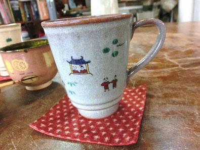 奈良絵のマグカップ