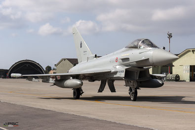 Italy - Air Force Eurofighter EF-2000 Typhoon, foto archivio PSC