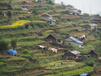 Ökodörfer unbekannter Annapurna Trekk