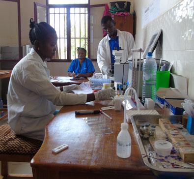 Ein bereits von SD Congo errichtetes Gesundheitszentrum in Lemba Imbu