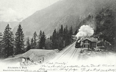 Künzli & Tobler Zürich, gestempelt 12.09.1903