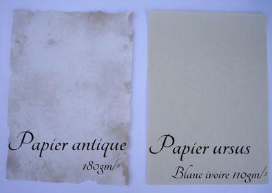 Comparaison papier