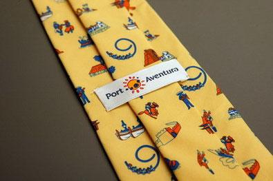 Seiden Krawatte bedruckt