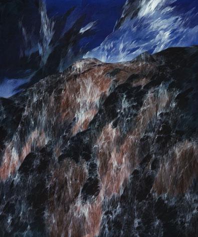 Josef Taucher, Zwielicht 3, 2004, Öl/Molino, 180 x 150 cm, Foto: W. Krug