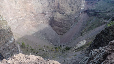 Bild: Vulkankegel des Vesuvs