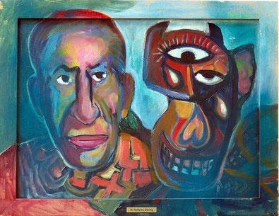 Magret Hofheinz-Döring: Picasso mit Stiermaske