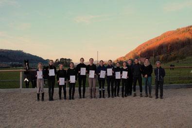 Grundausbildung Reitstall Heitern 2020