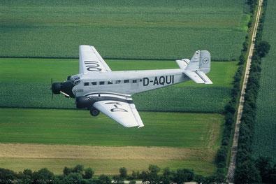 Ju 52 auf Strecke