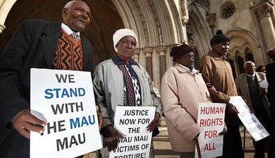 Mau Mau alla Corte londinese