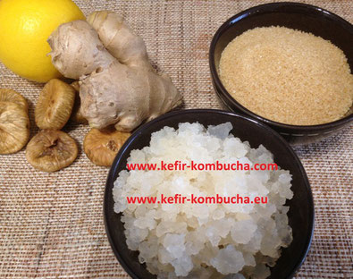 Kefir de fruits au gingembre
