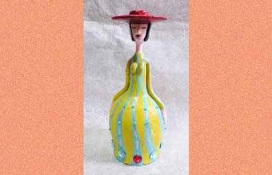 ボトル人形