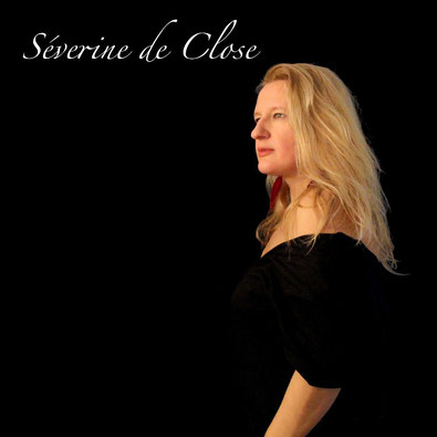 "Séverine de Close pochette du single ""pas à pas"""