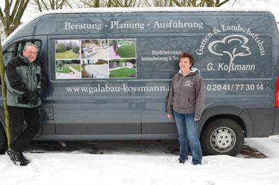 Auch im Winter eine gute Adresse: Peter und Gudrun Koßmann.