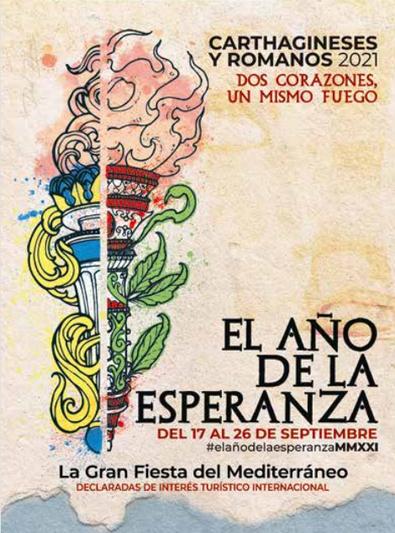 Fiestas en Cartagena Carthagineses y Romanos Cartel y Programa