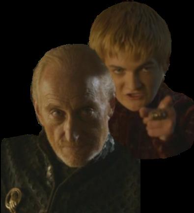 Tywin lannister e joffrey lannister