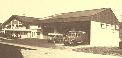 1980 - Oberes Stockwerk: Wohnungsbereich, Polizei und Feuerwehrlokal